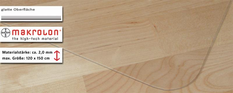 schreibunterlage mit kantenschutz transparent b rozubeh r. Black Bedroom Furniture Sets. Home Design Ideas
